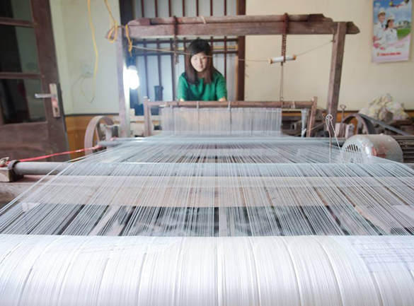 Làng nghề dệt khăn, dệt vải Phương La – Thái Phương